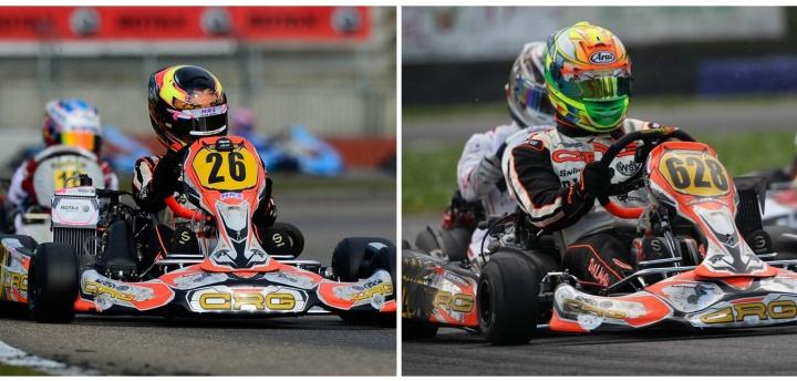 Rotax Euro Challenge - Meyer en el top ten, rotura y remontada para Dalmau.