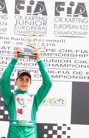Europeo OK-Junior. David Vidales se reencuentra con la victoria en Adria