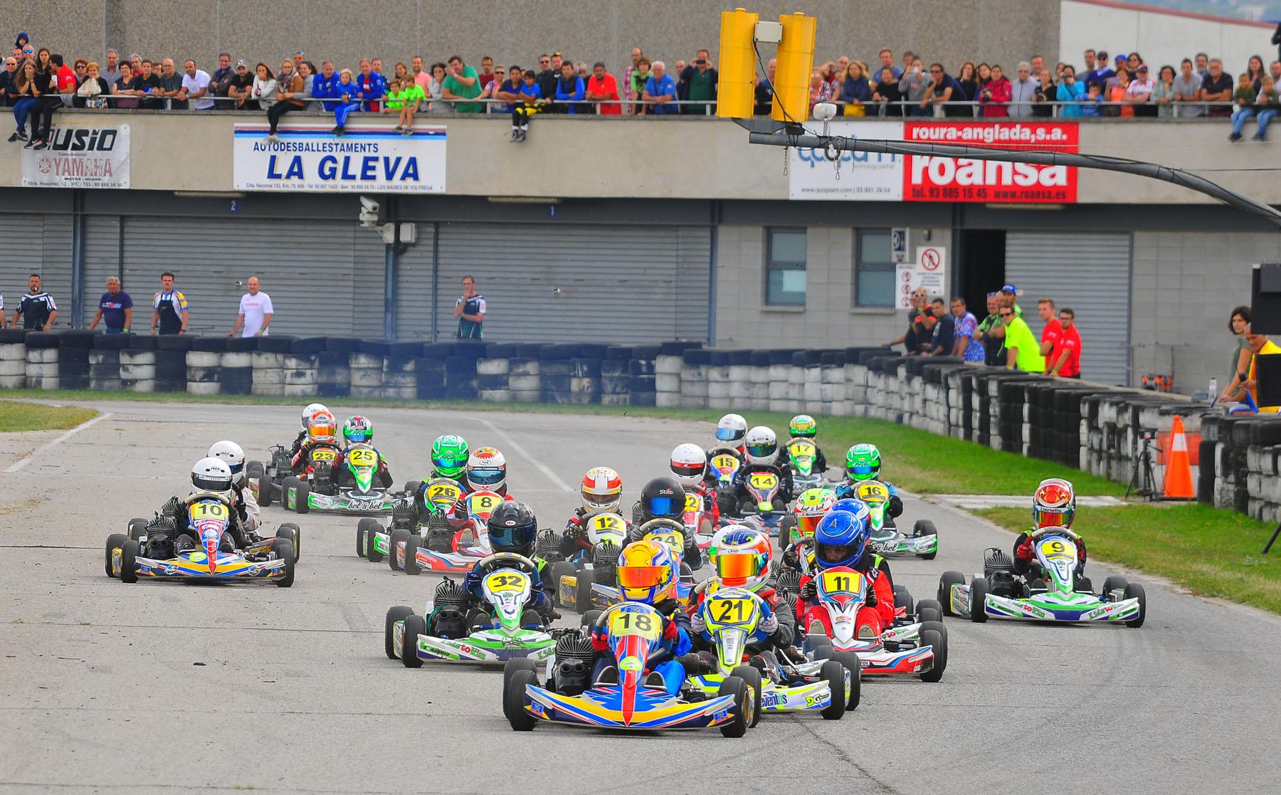 El Campionat de Catalunya celebró su penúltima reunión en el Circuit d'Osona