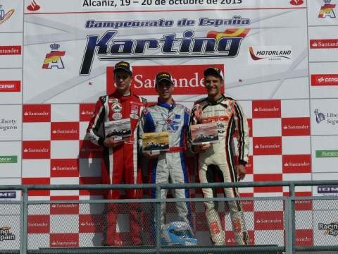 CEK - KZ2. Victorias para Roberto Ungena, título para Alex Palou.