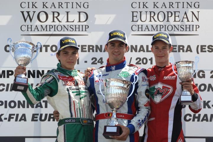 Historia de nuestro karting: Mundial y Europeo CIK-FIA, Zuera 2011