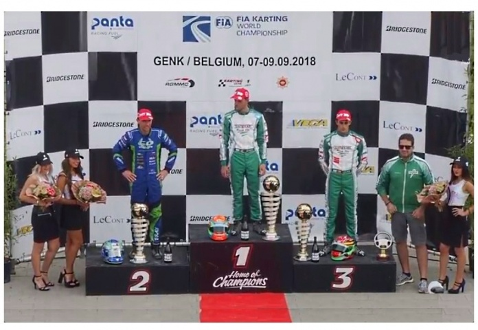 FIA International Super Cup KZ2: ¡David Vidales en el podio!