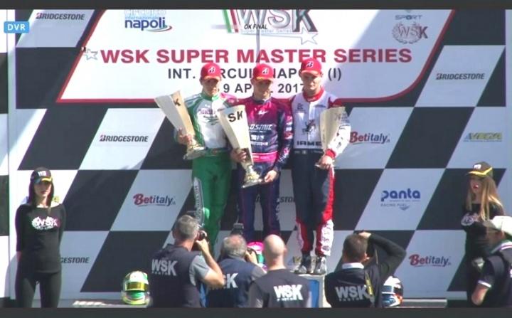 WSK Super Master Series OK - Pedro Hiltbrand vuelve al podio