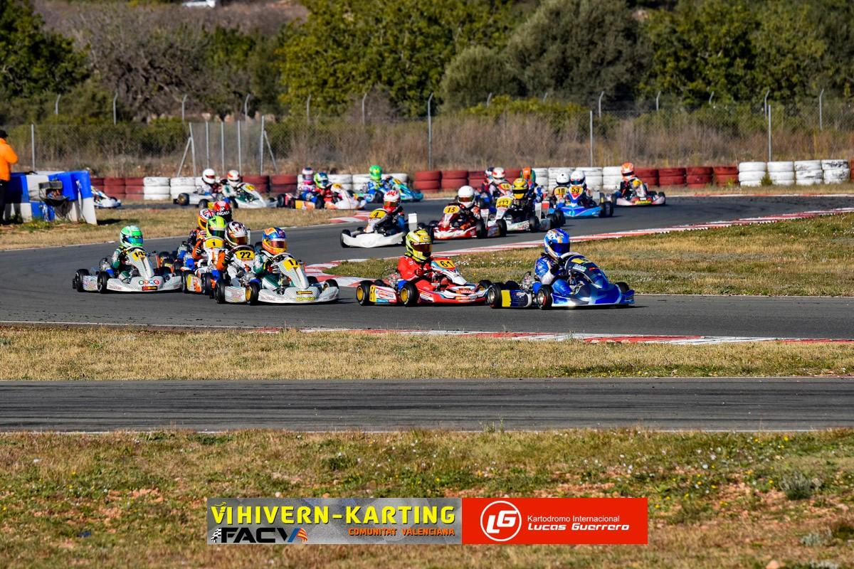 La emocionante sexta edición del Hivern Karting ya tiene ganadores