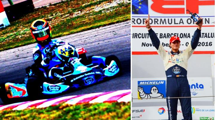 Javier Cobián - Del kart al formula con éxito