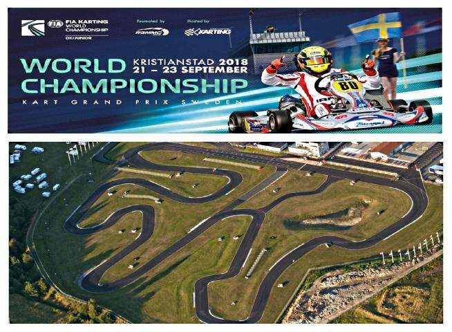 Los pilotos españoles al asalto del Campeonato del Mundo OK y OKJ en Suecia