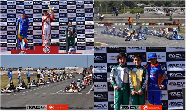 El Campeonato de Karting de la Comunitat Valenciana superó su ecuador