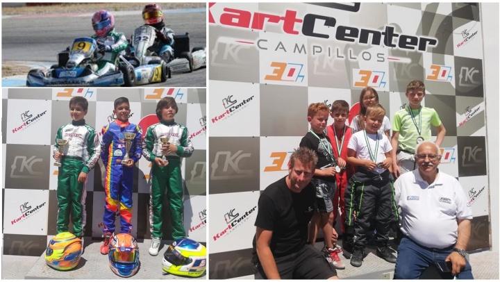 El Campeonato de Andalucía disputó su segunda cita en el Kart Center Campillos