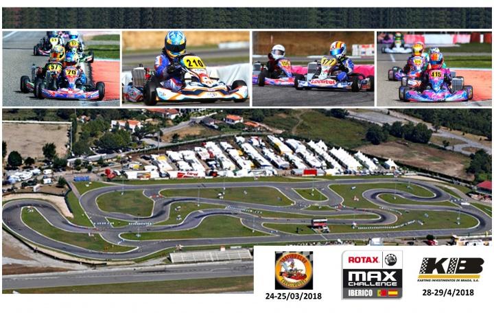 La representación española al asalto del Trofeo Ibérico Rotax  en Braga