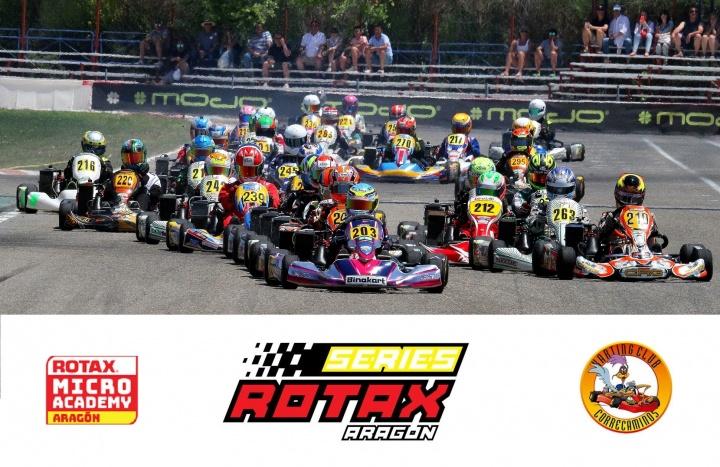 La emoción de las Series Rotax llega al Karting Correcaminos