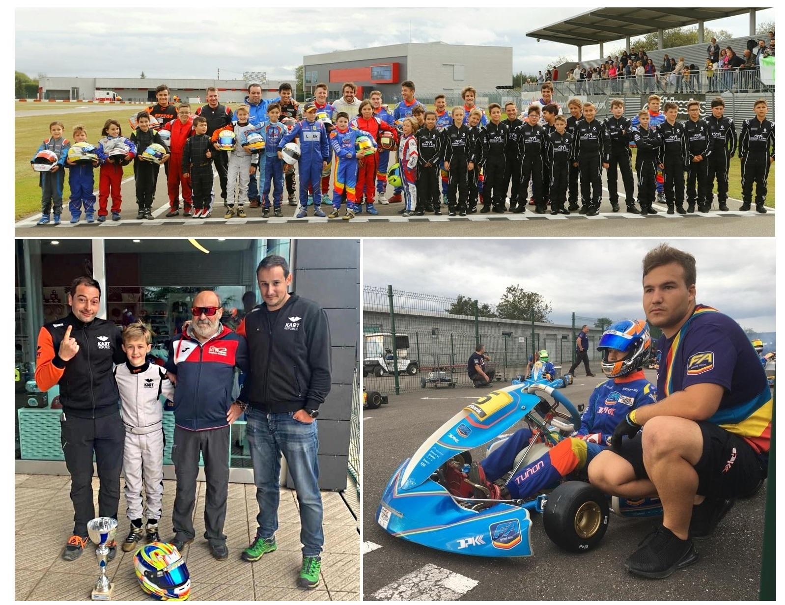 El Campeonato de Asturias de Karting ya tiene ganadores