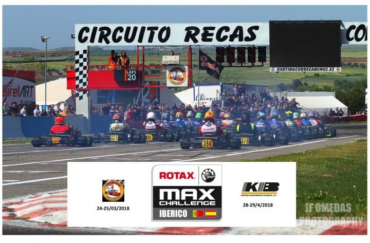 Trofeo Ibérico: Arranca oficialmente la temporada Rotax en Recas
