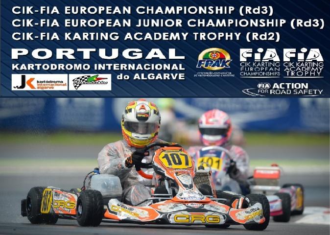 Europeo OK, OKJ y Academy Trophy en Portugal con 13 pilotos españoles