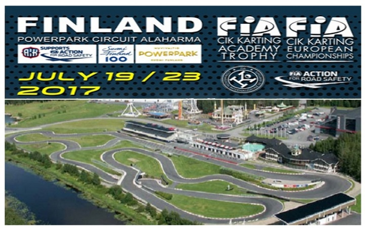 Campeonato de Europa CIK-FIA: los españoles a la conquista de Escandinavia