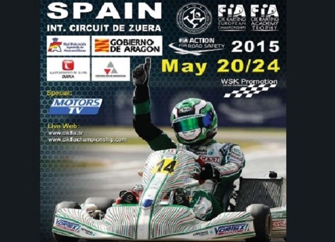 CIK-FIA European KZ/KZ2 Championship y Trophy Academy en Zuera