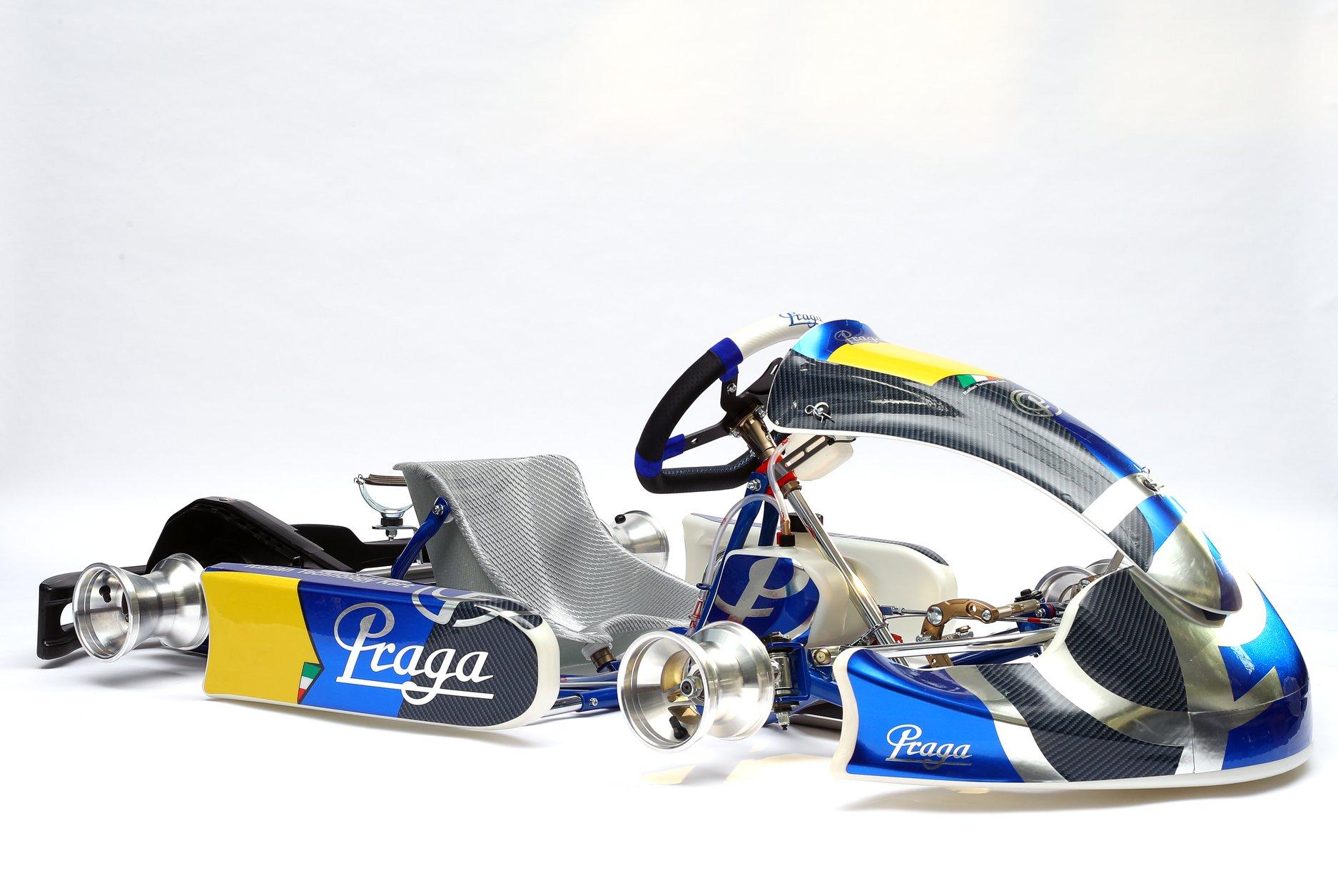 Monster Evo 3: el chasis de Praga Karts para la nueva categoría MINI