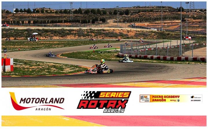 Las Series Rotax a por el segundo asalto en Motorland