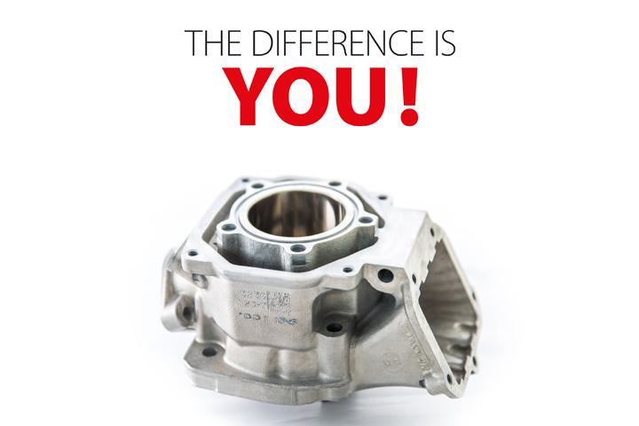 Nueva tecnología de fabricación de cilindros para motores Rotax