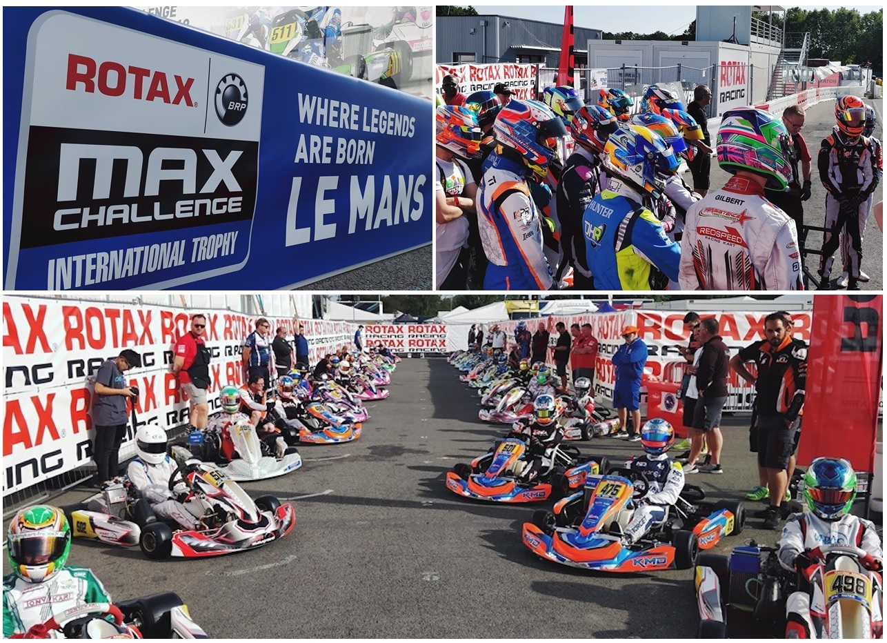 Rotax International Trophy: qualifying y primeras clasificatorias disputadas