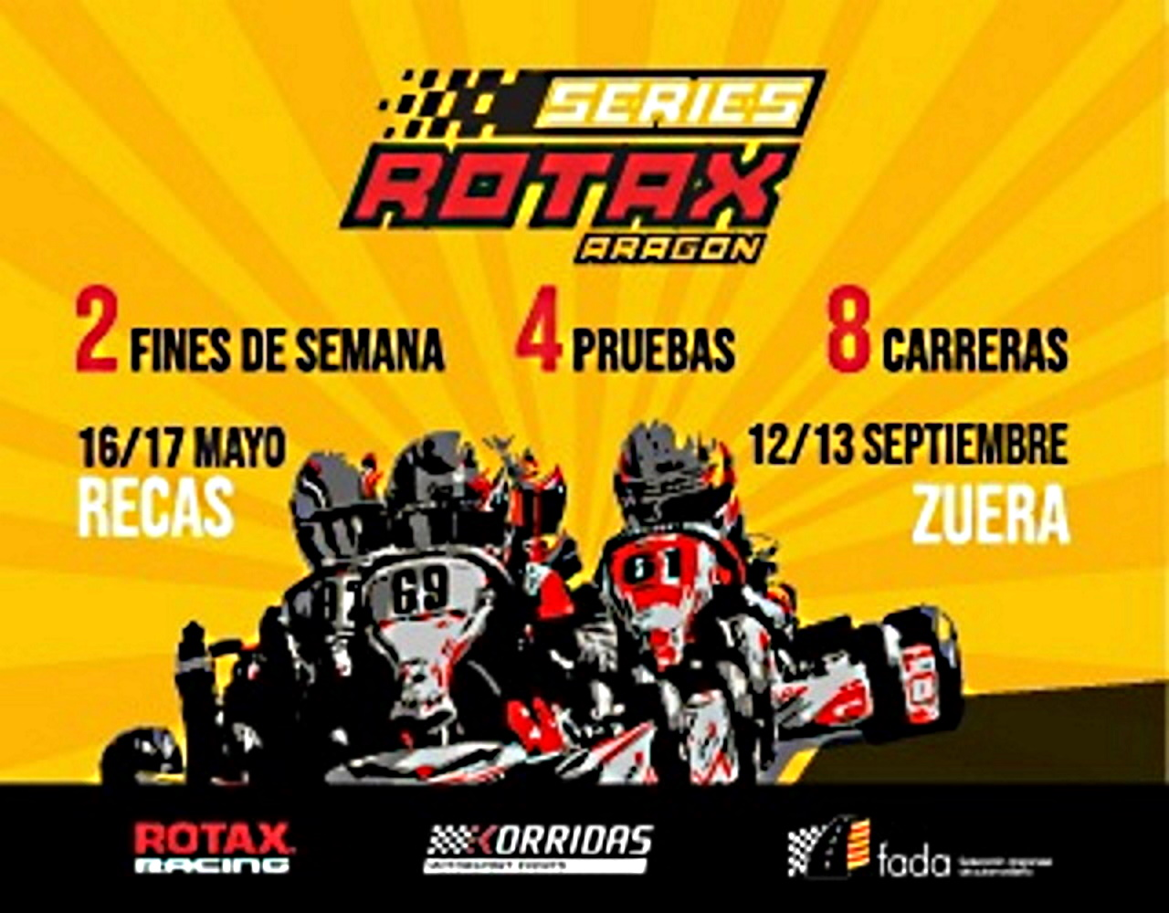 Series Rotax 2020: Arranque en Recas y final en Zuera