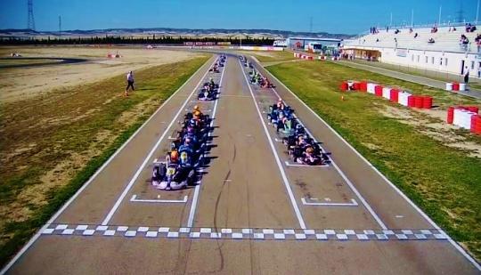 Open Internacional Rotax en Zuera - Next Stop Valencia.