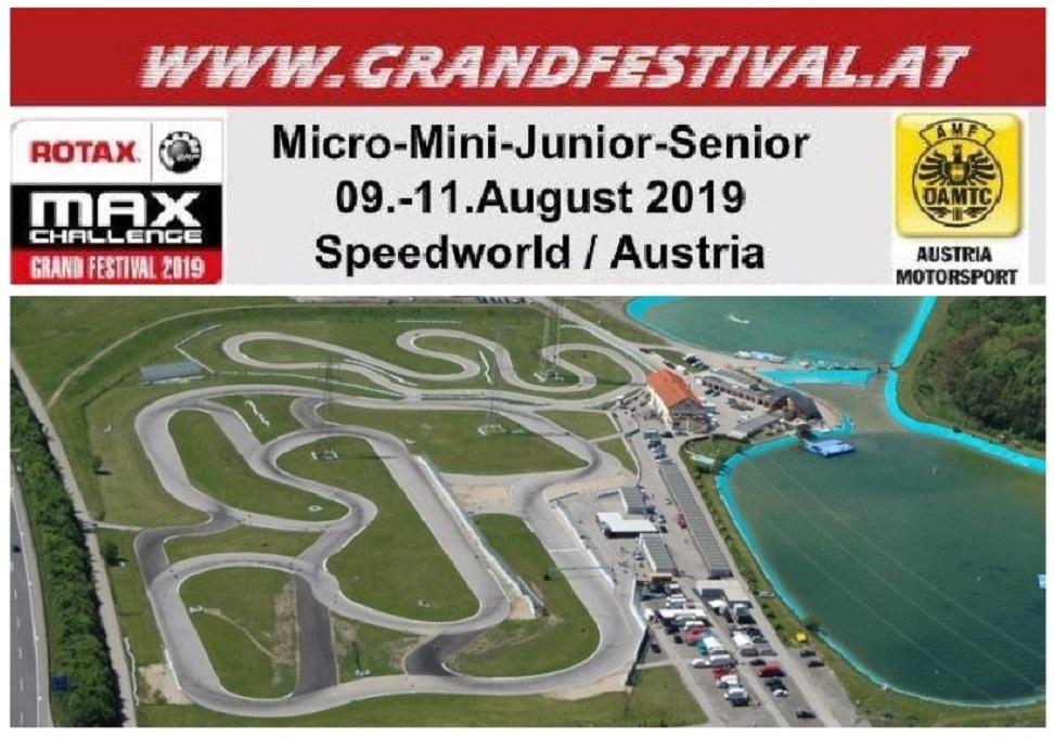 Rotax Grand Festival 2019: asalto internacional para nuestros pilotos en Austria
