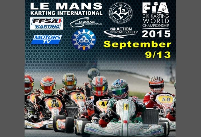"""""""Mundial"""" de KZ2 en Le Mans - Pescador y Hiltbrand entre los favoritos."""