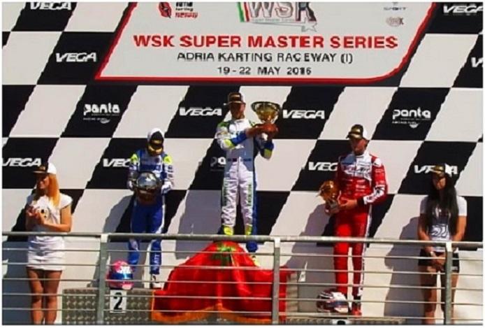 WSK Super Masters OKJ - Sami Taoufik campeón
