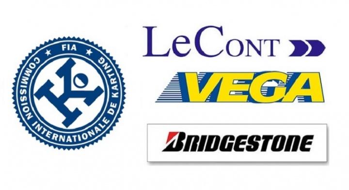 Vega, Le Cont y Bridgestone los neumáticos CIK FIA 2015