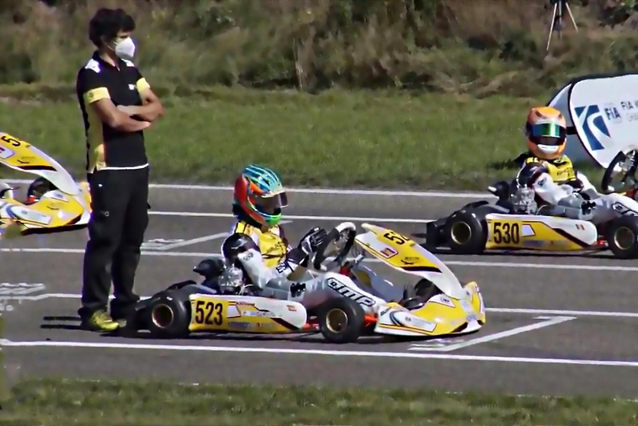 FIA Academy Trophy Genk - Santi Vallvé remonta hasta el Top 9