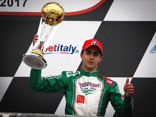 WSK Final Cup - David Vidales repite podio en Adria