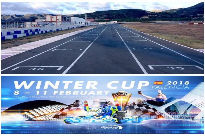 La Iame Winter Cup de Chiva con gran presencia de pilotos españoles
