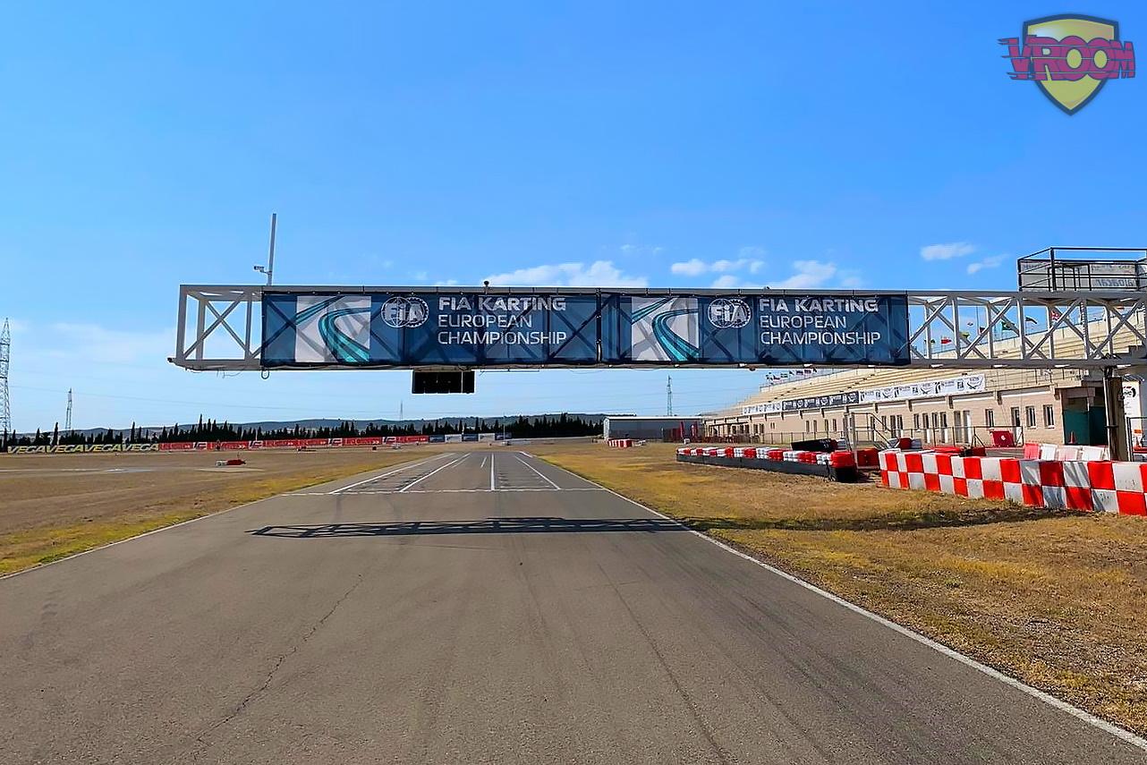 Terminó la espera: la temporada FIA karting arranca en Zuera