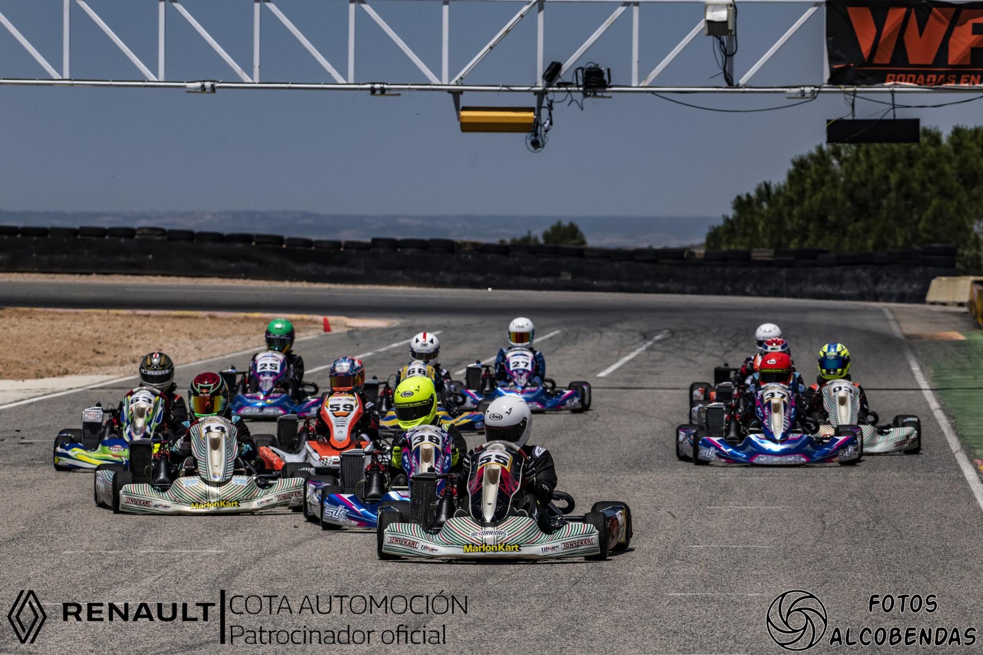 El Campeonato Madrileño de karting 2021 en marcha