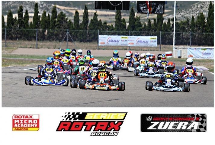 Series Rotax - Los títulos se deciden en Zuera