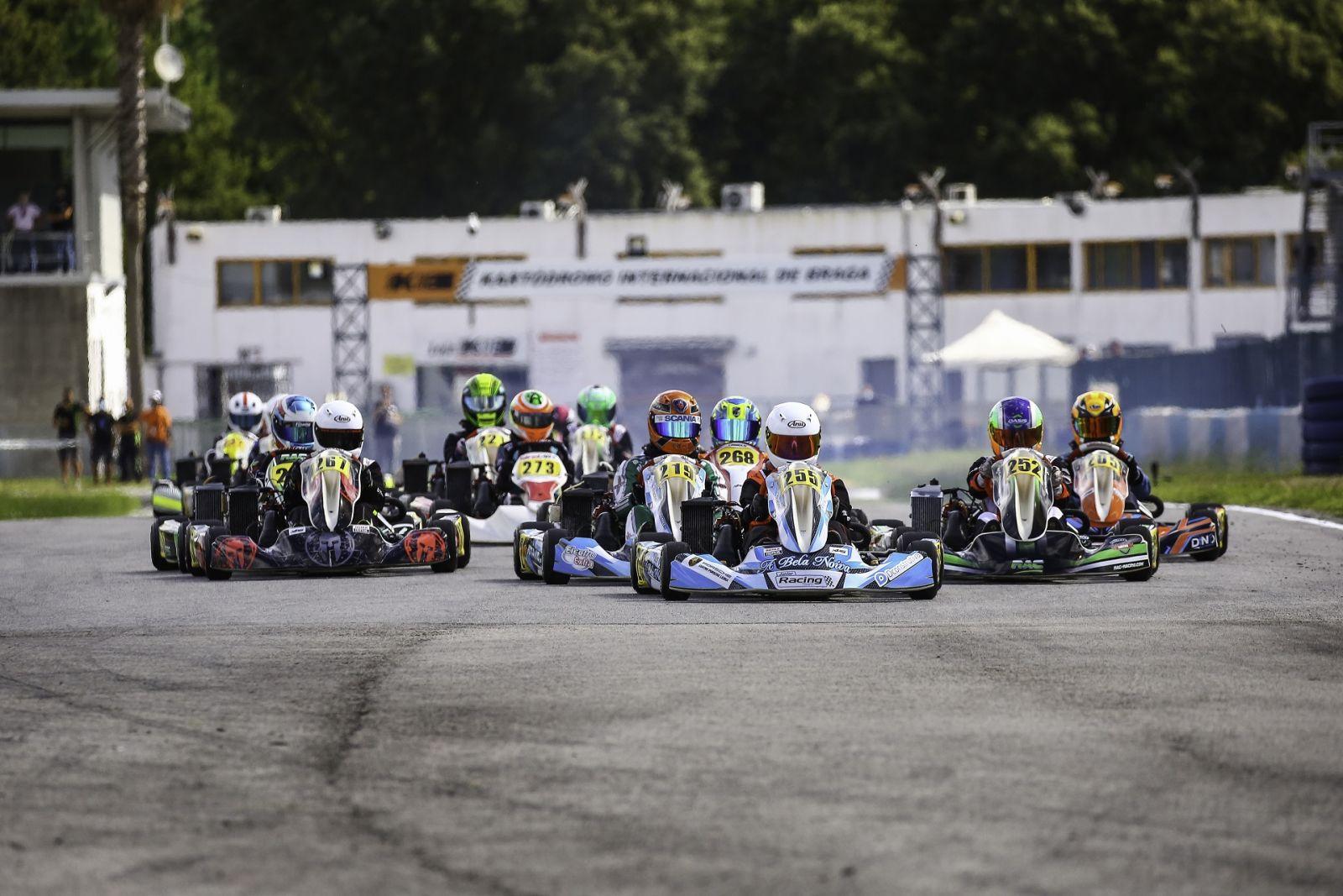 La primera cita del año para los pilotos españoles en Braga