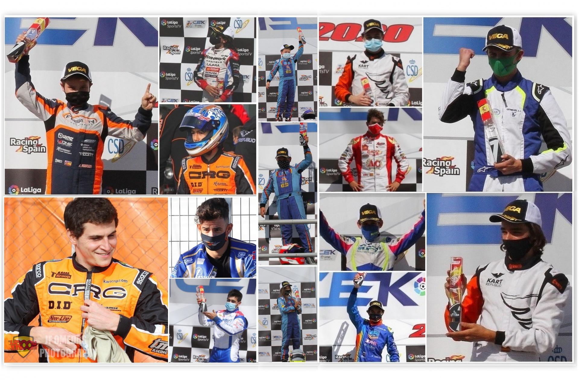 Los Campeones de España de Karting 2020