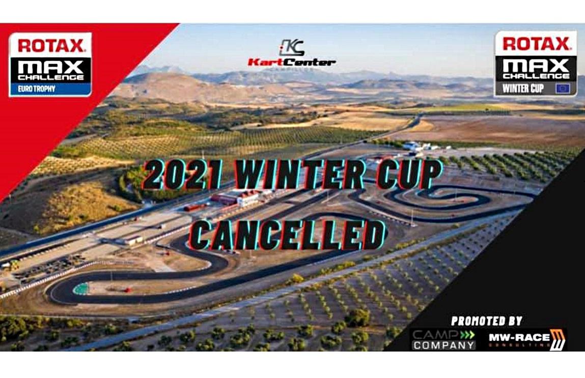 Última hora: Se cancela la Winter Cup de Rotax