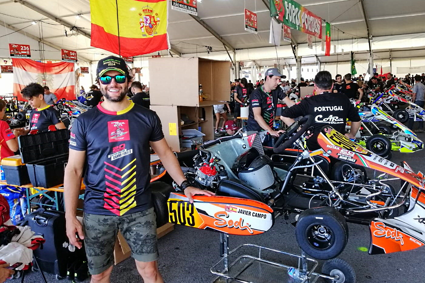Objetivo Rotax Grand Finals - Javier Campo