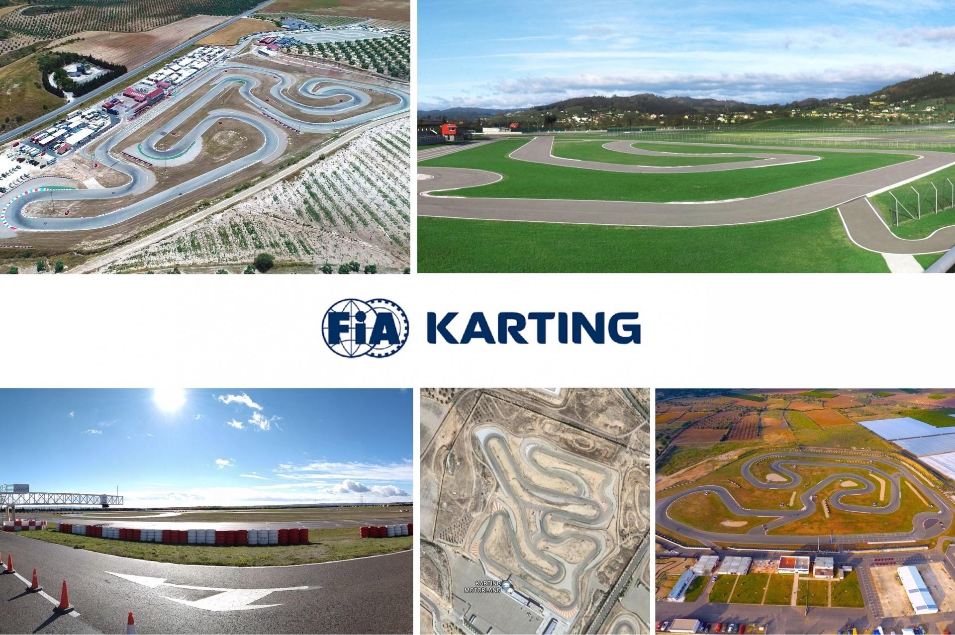 España en el podio de países con más circuitos de karting FIA