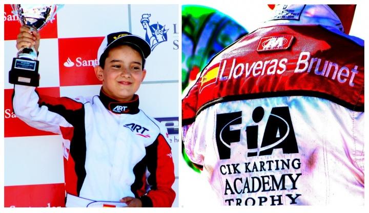 Xavier Lloveras y Alejandro Lahoz en el Academy Trophy