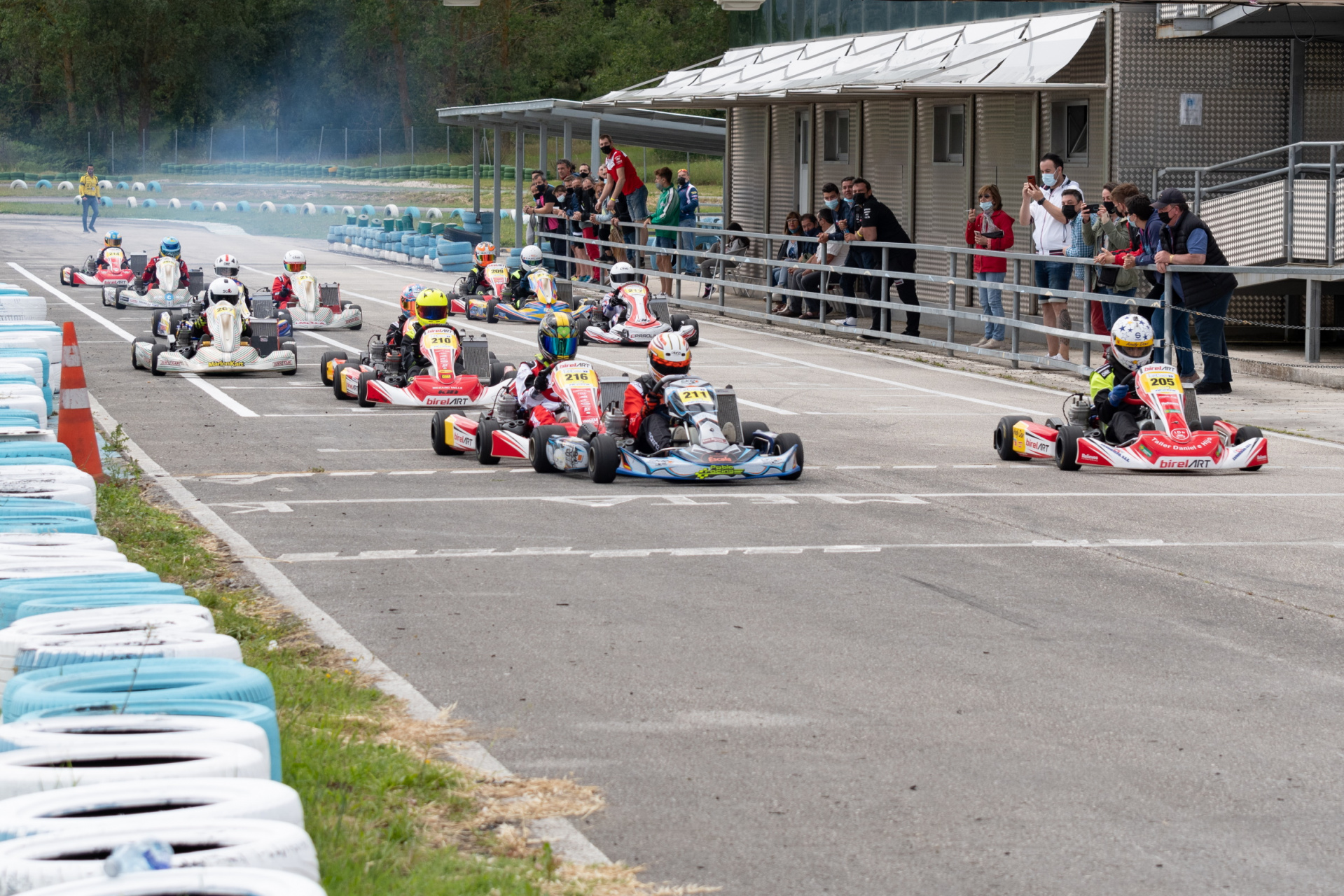 El Campeonato de Castilla y León de Karting llega a su ecuador