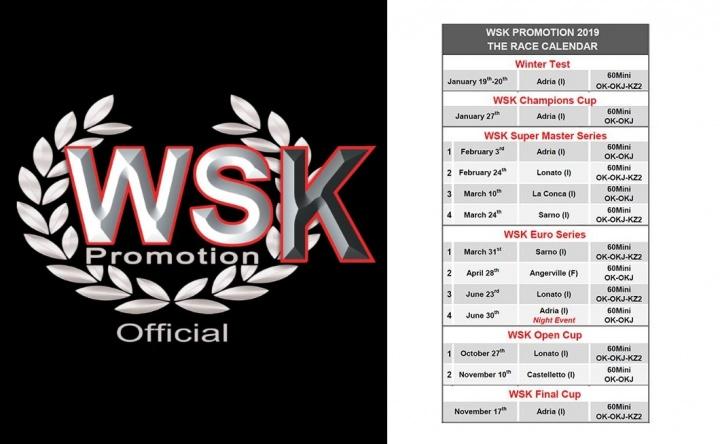 WSK Euro Series - Zuera se cae del calendario