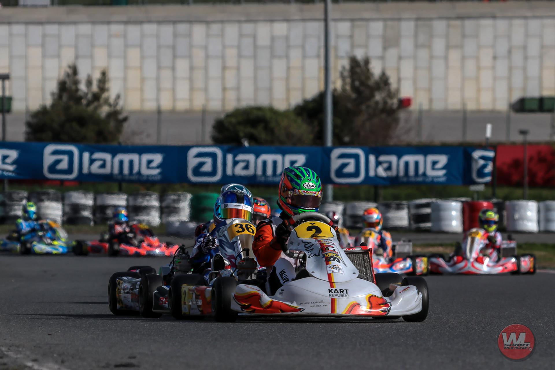 Iame International Games Junior - Top 10 para Santi Vallvé