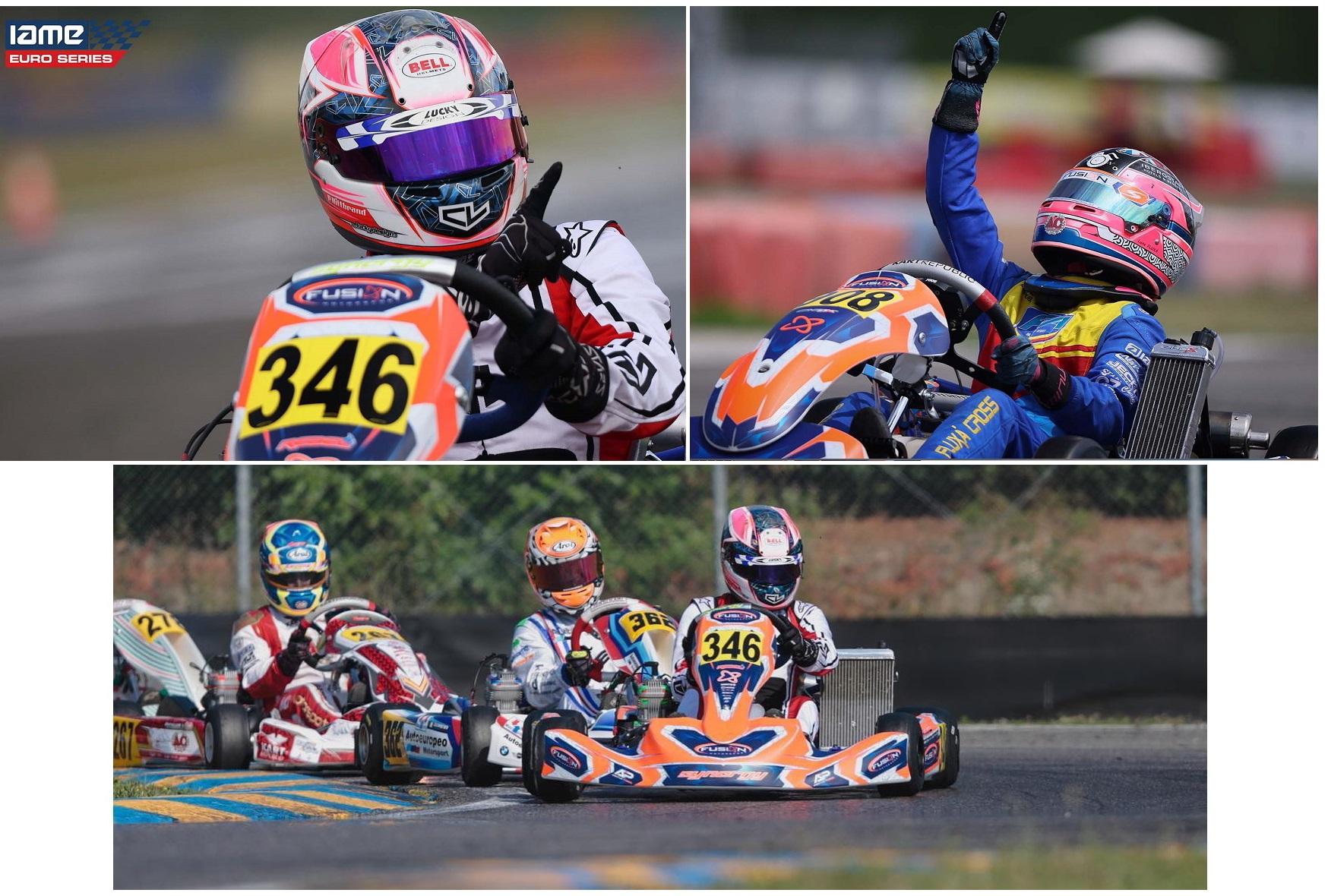 Iame Euro Series - El Karting español brilla en Castelletto