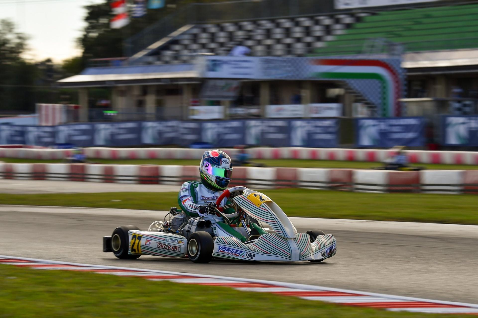 Mundial Karting FIA Lonato: Pedro Hiltbrand is Back!