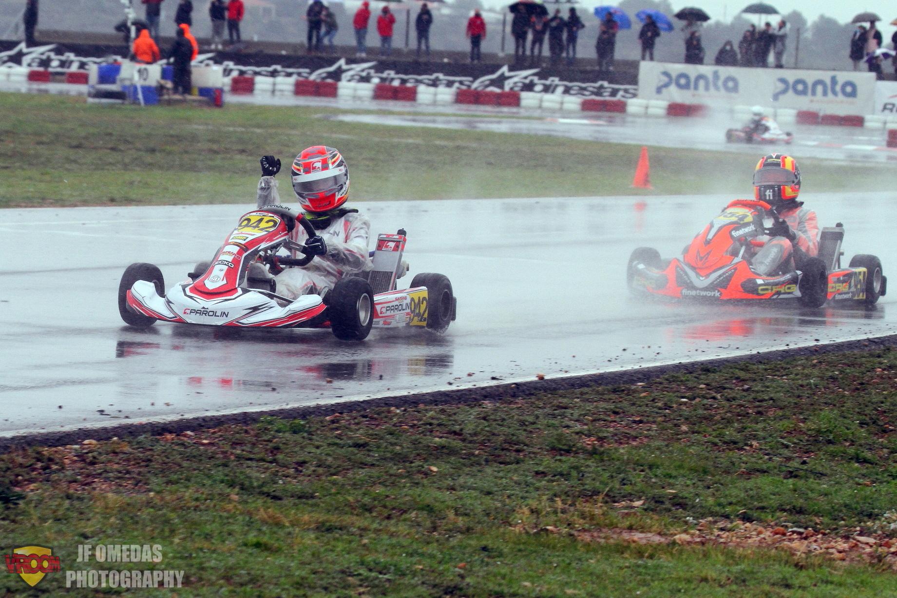 Iame Winter Cup Mini - Cuatro españoles en el top 10 de la Final