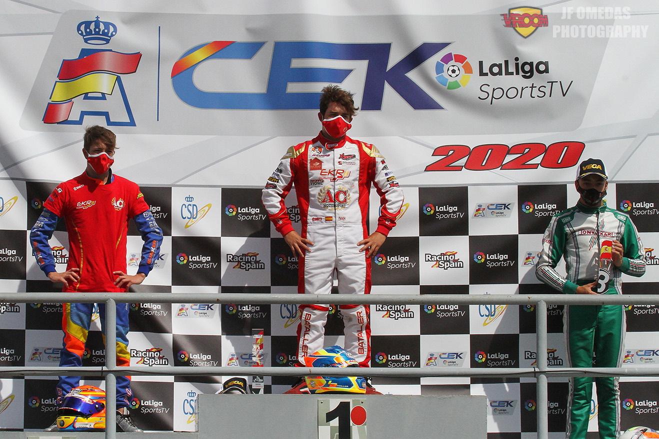 Carrera 2 CEK Senior Campillos - Victoria y liderato para Iván Bataller