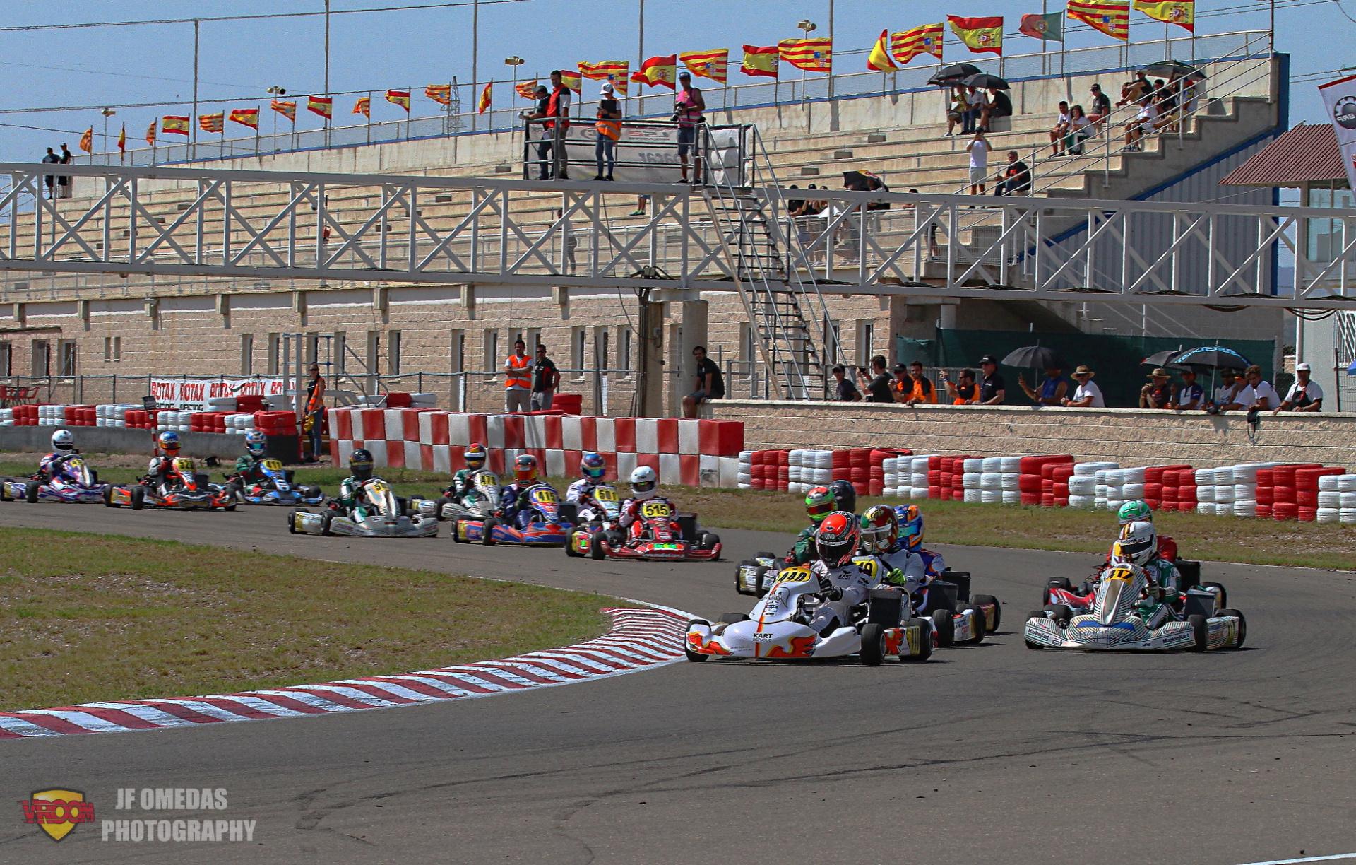 Las plazas para las Rotax Grand Finals 2021 en juego a prueba única en Zuera