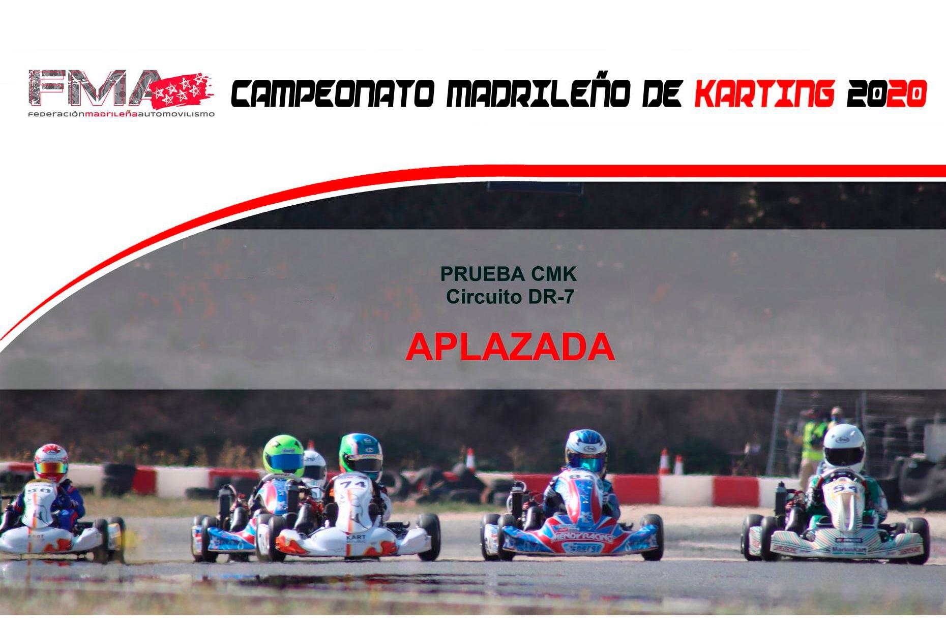 Amargo final para el Campeonato Madrileño de Karting 2020